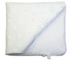 Dětská deka minky LittleUp White Stars