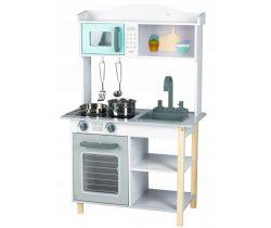 Dětská dřevěná kuchyňka EcoToys Grey
