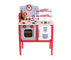 Dětská dřevěná kuchyňka s troubou EcoToys
