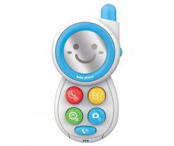 Dětská hračka se zvukem Baby Mix Telefónek Blue