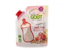 Dětská jahodová instantní kaše v prášku 200 g Good Gout Bio