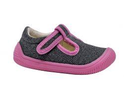 Dětská barefoot obuv Protetika Kirby Pink