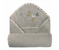 Dětská osuška s kapucí Baby Matex MAXI Plus Birds
