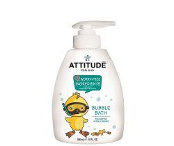 Dětská pěna do koupele s vůní hruškové šťávy s pumpičkou 300 ml Attitude