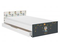 Dětská postel se šuplíkem Wooden Toys Pufi Badger