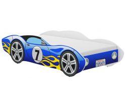 Dětská postel Wooden Toys Corvetta Flames Blue