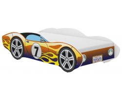 Dětská postel Wooden Toys Corvetta Flames Chameleon