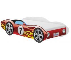 Dětská postel Wooden Toys Corvetta Flames Red