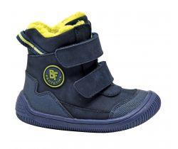 Dětská zimní barefoot obuv Protetika Tarik Denim