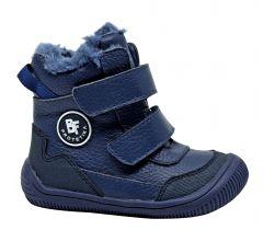 Dětská zimní barefoot obuv Protetika Tarik Navy