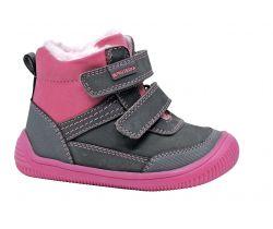 Dětská zimní barefoot obuv Protetika Tyrel Grey