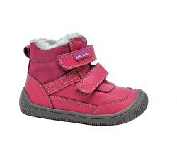 Dětská zimní barefoot obuv Protetika Tyrel Koral