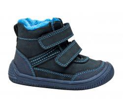 Dětská zimní barefoot obuv Protetika Tyrel Navy