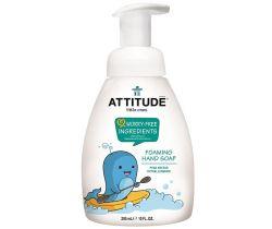 Dětské mýdlo na ruce svůní hruškové šťávy s pumpičkou 295 ml Attitude