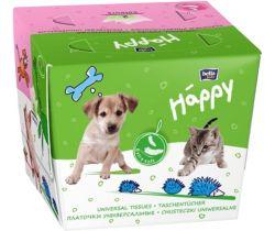 Dětské papírové kapesníky mix 80 ks Bella Baby