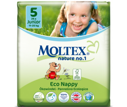 Plenky Moltex Junior 5 (11-25 kg) 26 ks