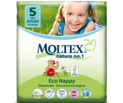 Plenky Moltex Junior 5 (11-25 kg) 26 ks