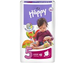 Pleny Bella Baby Happy Junior 5 (12-25 kg) 42 ks