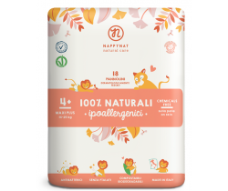 Plenky Nappynat Natural Care Maxi Plus  4+(14-25 kg) 18 ks