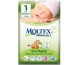 Pleny Moltex Newborn 1 (2-4 kg) 23 ks