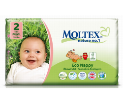 Pleny Moltex Mini 2 (3-6 kg) 42 ks