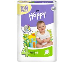 Pleny Bella Baby Happy Maxi Big Pack 4 (8-18 kg) 66 ks