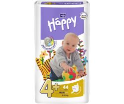 Pleny Bella Baby Happy Maxi Plus 4+ (9-20 kg) 44 ks
