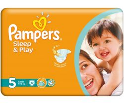 Pleny Pampers Sleep&Play Junior 5 (11-18 kg) 42 ks