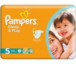 Pleny Pampers Sleep&Play Junior 5 (11-18 kg) 42 ks