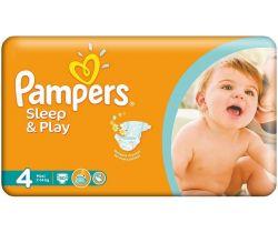 Pleny Pampers Sleep&Play Maxi 4 (7-14 kg) 50 ks