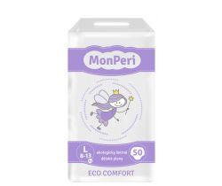 Dětské pleny 50 ks 8-13 kg Monperi Eco Comfort L
