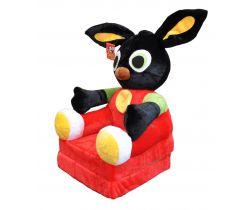 Dětské plyšové křesílko Smyk 2v1 Bing Bunny