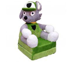 Dětské plyšové křesílko Smyk 2v1 Cavalier Dog