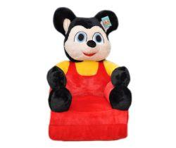 Dětské plyšové křesílko Smyk 2v1 Mickey