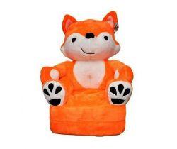 Dětské plyšové křesílko Smyk 2v1 Orange Fox