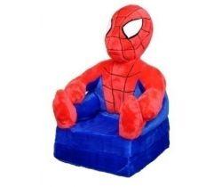Dětské plyšové křesílko Smyk 2v1 Spiderman
