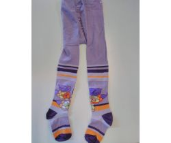 Dětské punčocháče Pinokio Deluxe Purple Flowers