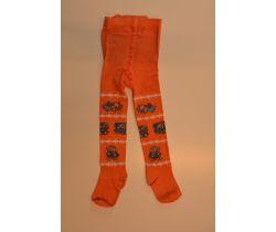 Dětské punčocháče Pinokio Deluxe Sleeping Bear Orange