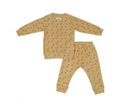 Dětské pyžamo Lodger Sleeper Print Rib Honey
