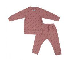 Dětské pyžamo Lodger Sleeper Print Rib Rosewood