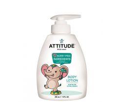 Dětské tělové mléko s vůni hruškové šťávy 300 ml s pumpičkou Attitude