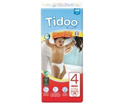 Dětské trénovací plenkové kalhotky Tidoo T4  Maxi 8/15kg (38ks)