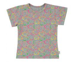 Dětské tričko Esito Neonová Srdce