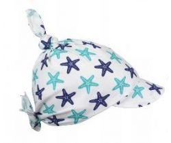 Dětský šátek WORK-LESS Blue/Green Starfish