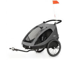 Dětský vozík za kolo Hauck Dryk DUO