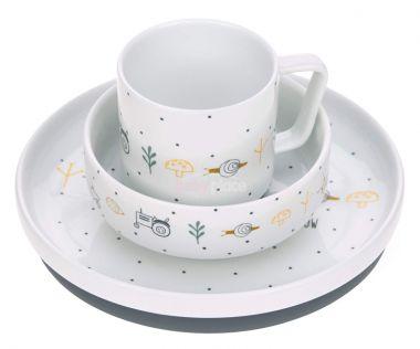 Porcelánový set nádobí Lässig Garden Explorer