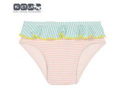 Dívčí plavky s UV ochranou Kietla Nohavičky Pink belt