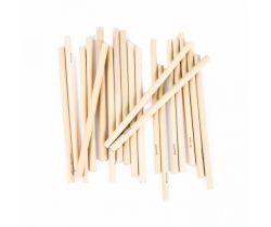 Dlouhá bambusová brčka Bamboolik 20ks