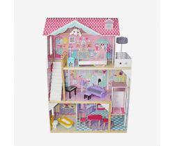 Domeček pro panenky Wooden Toys Dusia