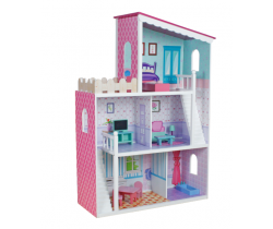 Domeček pro panenky Wooden Toys Oliwka